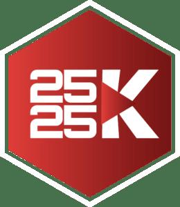 logo 2525K visión